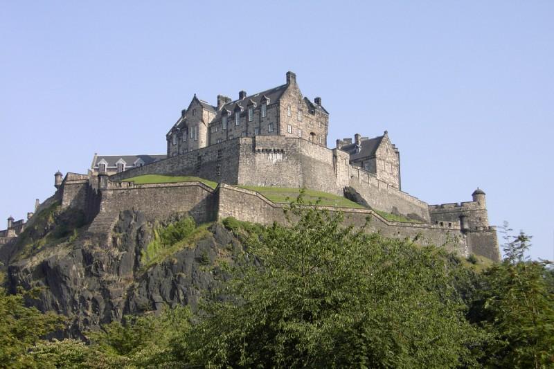 le chateau de edimbourg