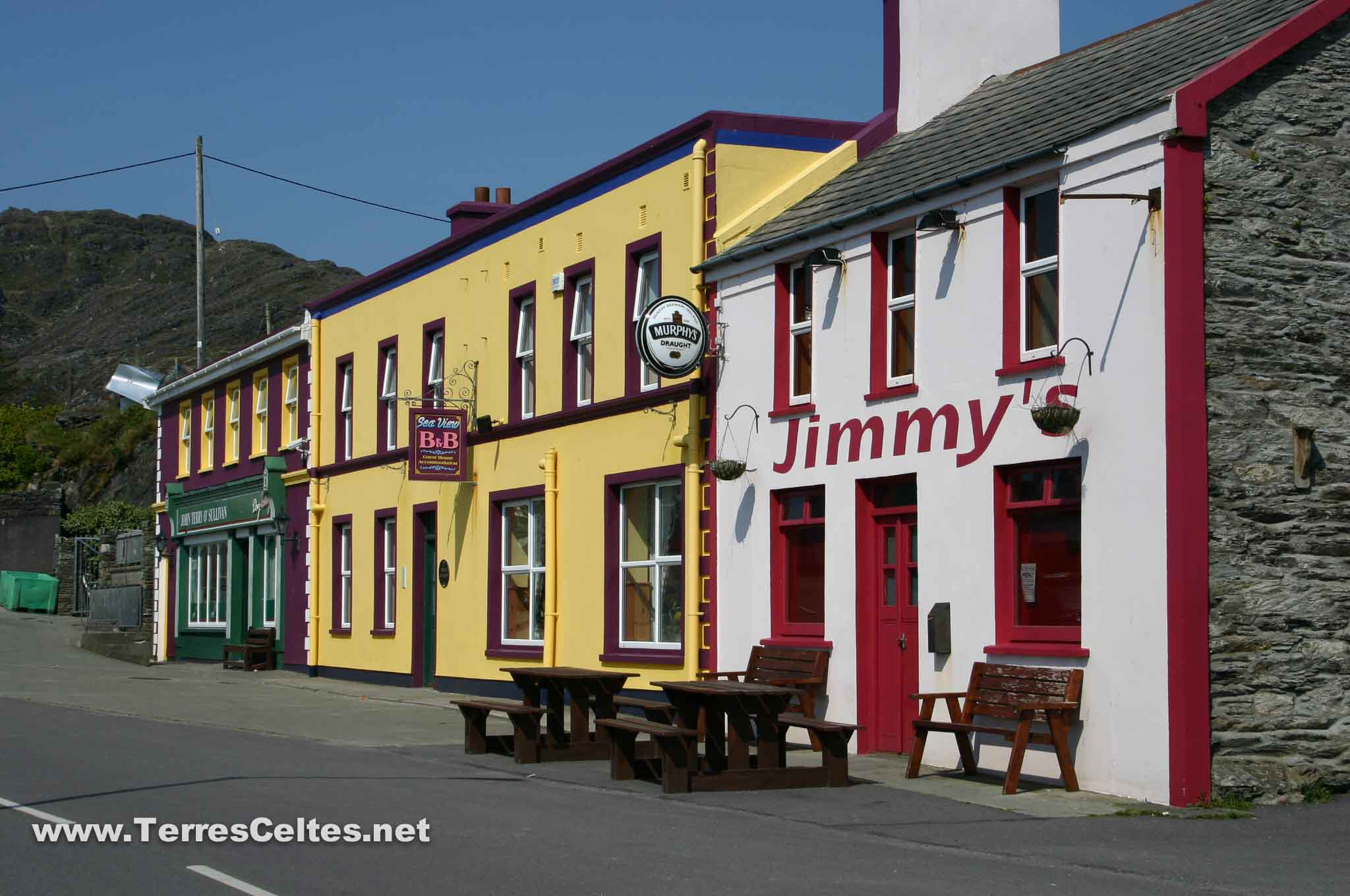 l'hébergement en irlande - terres celtes