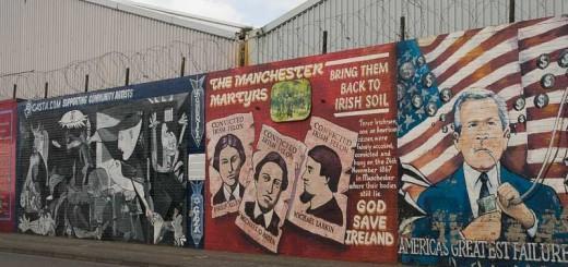 Belfast terres celtes for Mural irlande